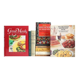 Breakfast, Brunch & Baking Book Collection - Set of 10