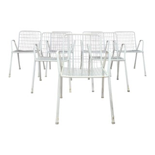 Vintage Outdoor Chairs - Set of 7