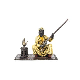 1900's Bronze Arab Warrior Figurine