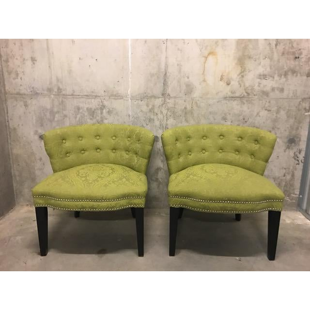HD Buttercup Slipper Chairs - A Pair - Image 2 of 6
