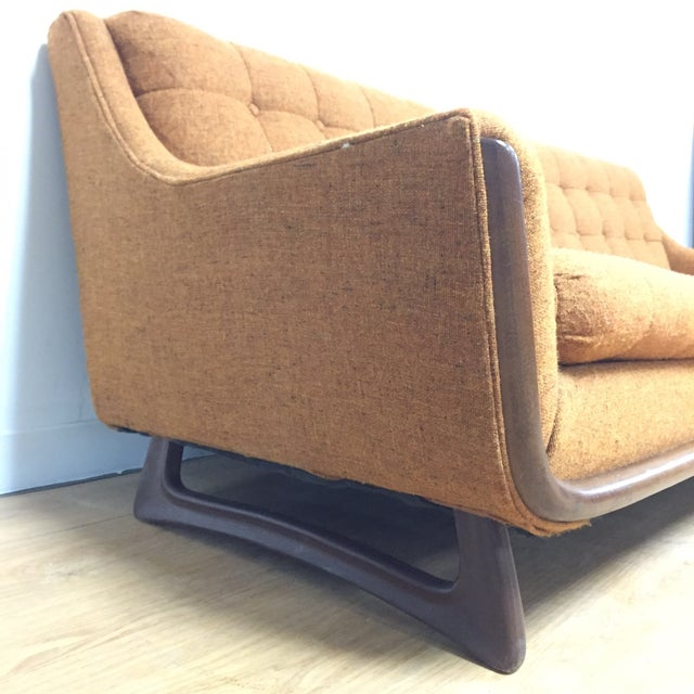 Mid Century Pearsall Style Sofa - Image 3 of 9
