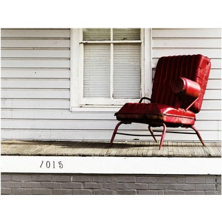 """""""The Red Chair"""" Photograph"""