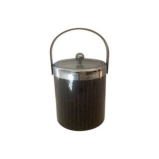 Georges Briard Pin Stipe Ice Bucket