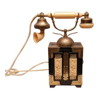 Decorative Old-Fashioned Telephone