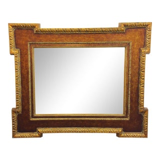 Vintage Gilt Frame Beveled Mirror