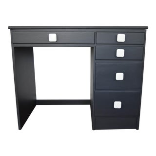 Black and White Writing Desk