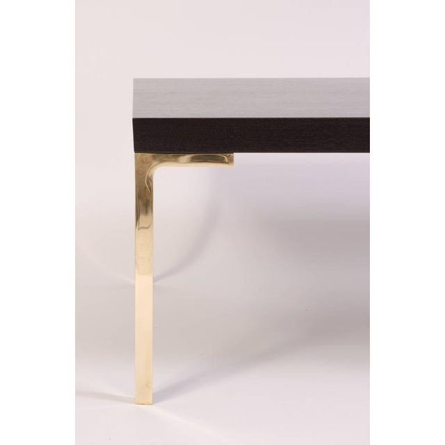 Astor Cocktail Table in Ebonized Walnut by Montage - Image 3 of 6