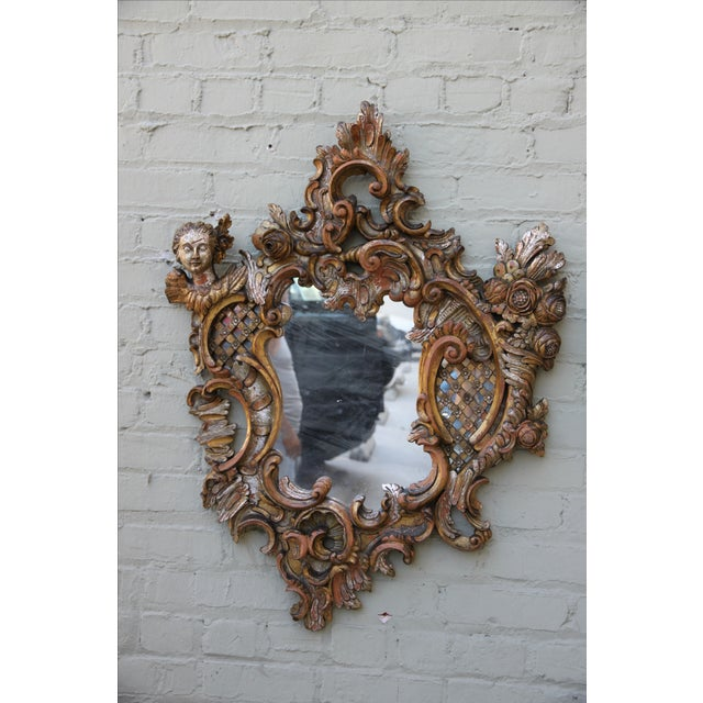 Italian Baroque Style Mirrors - A Pair - Image 4 of 9