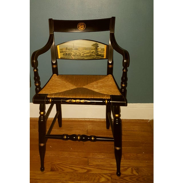 Image of Hamilton College Hitchcock Accent Chair