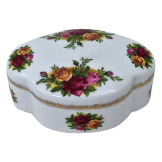 Royal Albert Porcelain Box