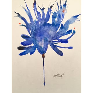 Blue Bird Original Watercolor Painting