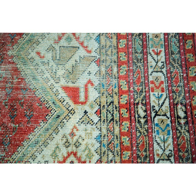 "Antique Persian Malayer Runner - 6'9"" x 15'10"" - Image 3 of 5"