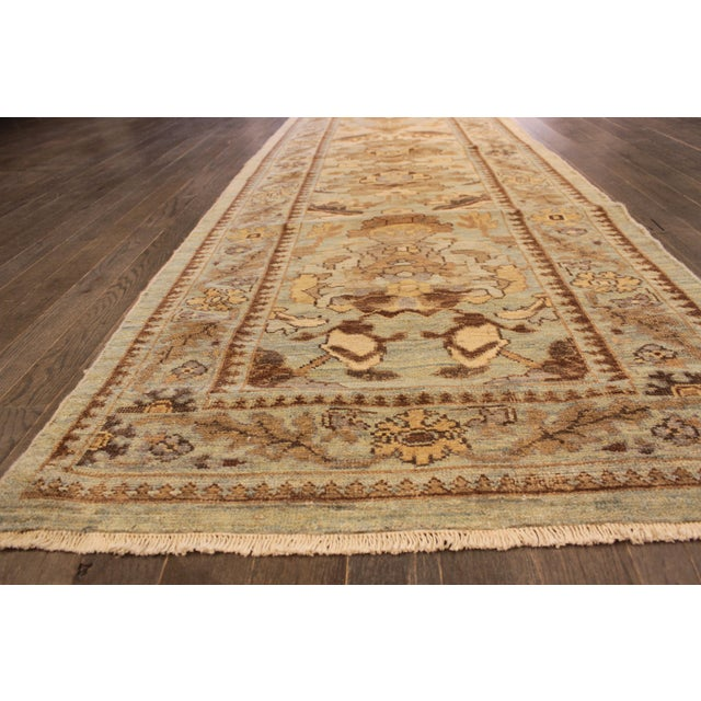 "Persian Sultanabad Rug - 3'2"" x 13'9"" - Image 5 of 10"