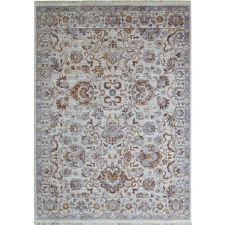 Picasso Soft Oushak Light Pattern Rug - 5'3'' x 7'7''