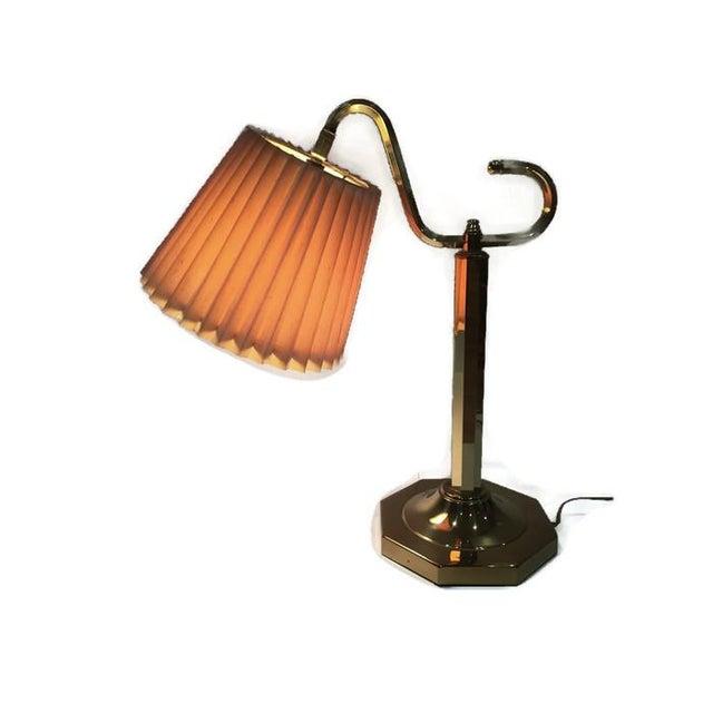 Vintage Modern Brass Desk Lamp - Image 6 of 6