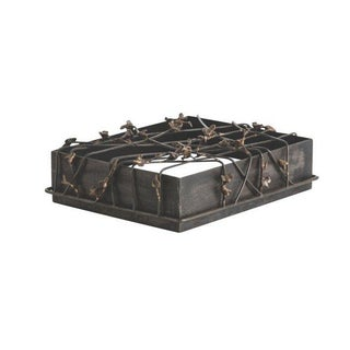 Butterfly Metal Iron Box