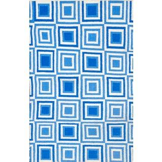 Modern Flatweave Rug - 4′ × 6′