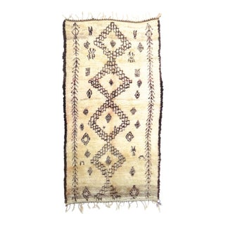 Vintage Moroccan Marmoucha Rug - 6′ × 10′2″