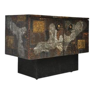 Paul Evans Mixed Metal Sideboard Cabinet