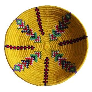 Moroccan Handwoven Bowl