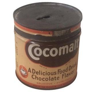 1920s Cocomalt Malt Drink Tin