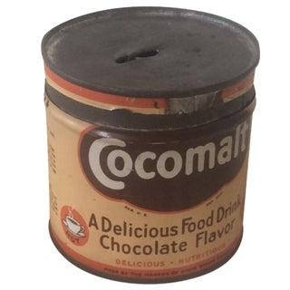 1920s Cocomalt Malt Drink Tin