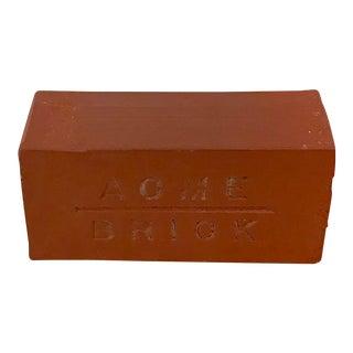 Salesman Sample Acme Brick Paperweight