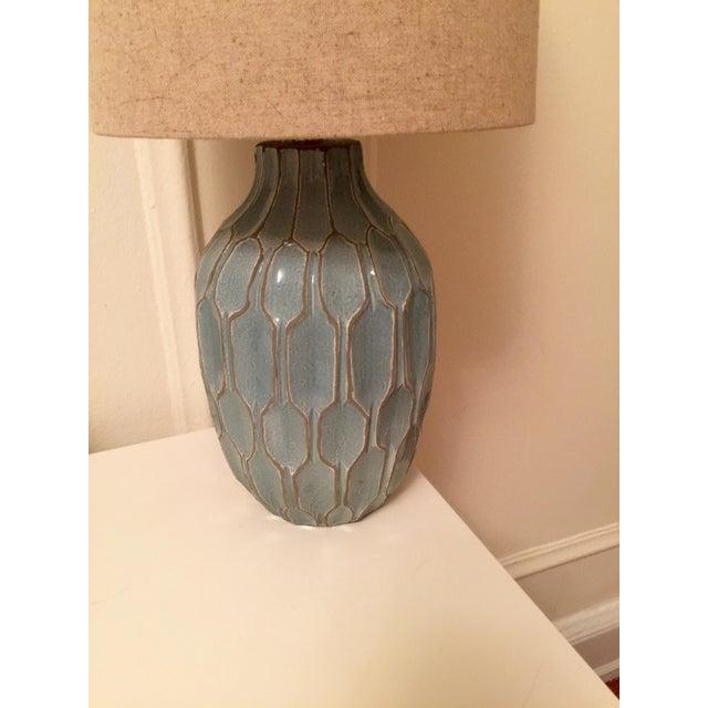 Image of West Elm Handmade Ceramic Lamps - A Pair