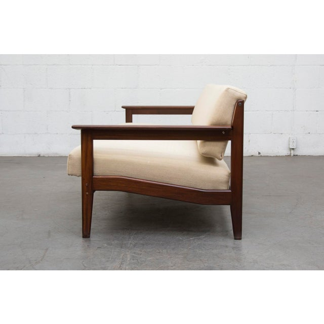 Mid-Century Sofa Chair in Bone - Image 3 of 11