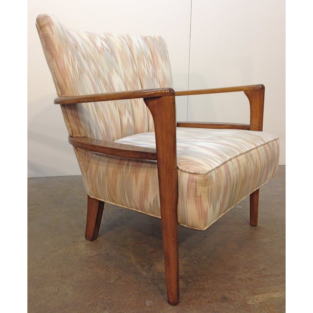 Heywood-Wakefield Solid Maple Armchairs - A Pair - Image 3 of 5