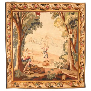 Finely Woven Antique 19th Century French Tapestry