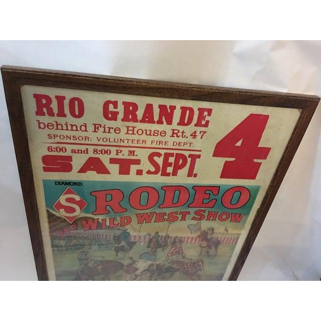 Original Rio Grande Rodeo Wild West Poster - Image 3 of 7