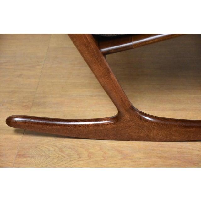 Ib Kofod Larsen for Selig Rocking Chair - Image 10 of 11