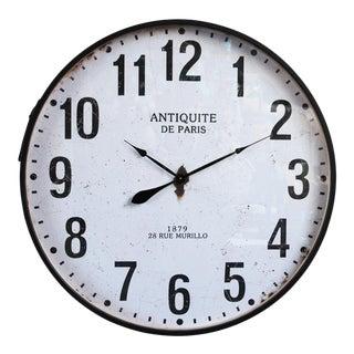 Large Paris Wall Clock