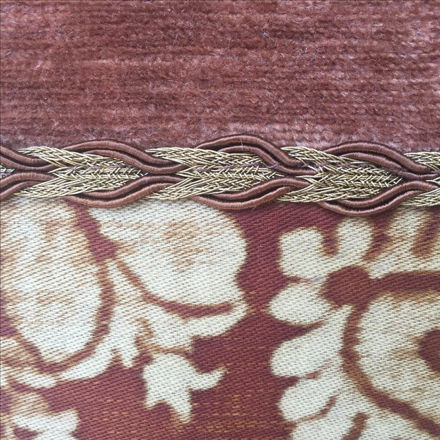 Fortuny Textile Pillows - A Pair - Image 3 of 5