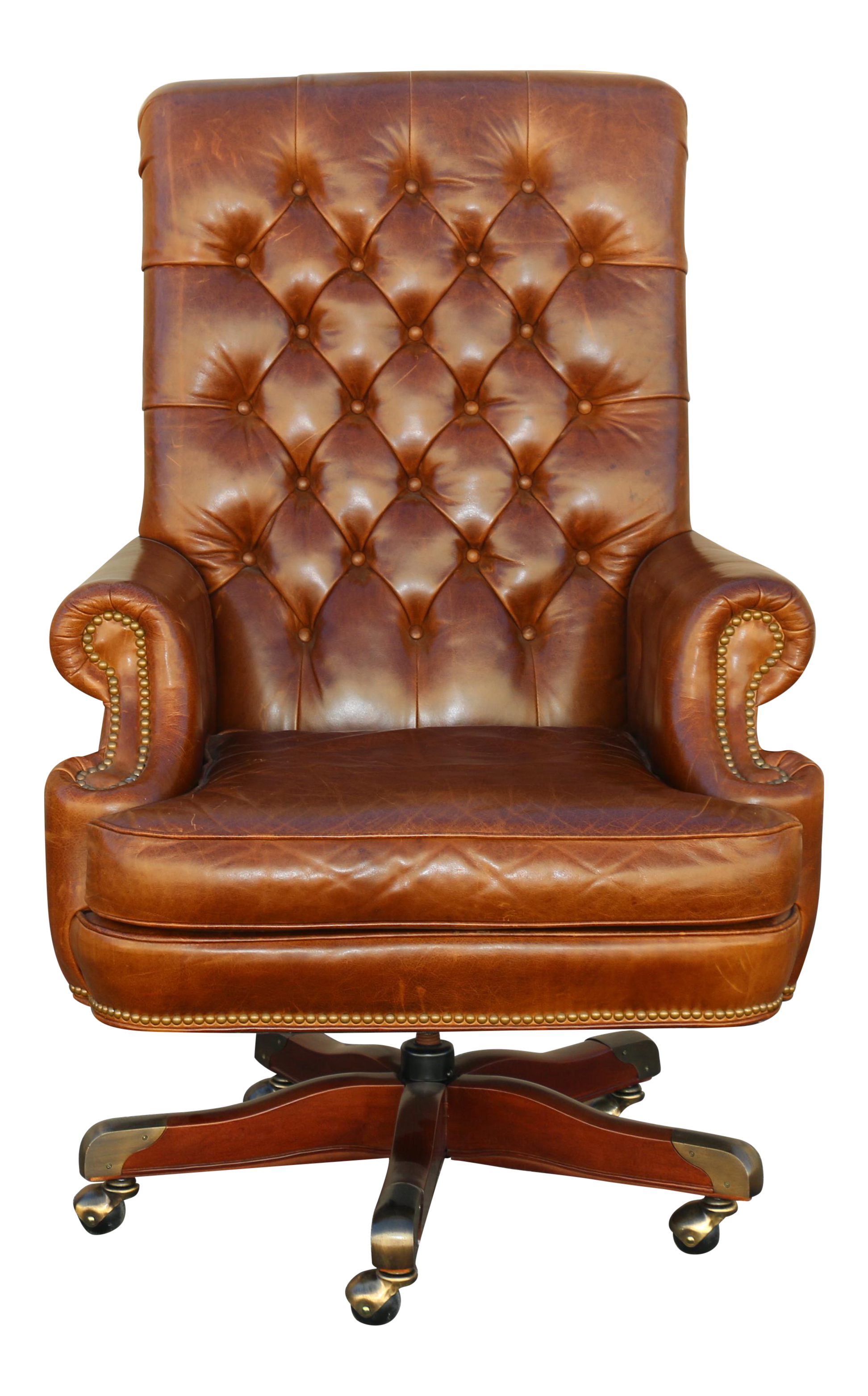 Leather Councill Executive Desk Chair
