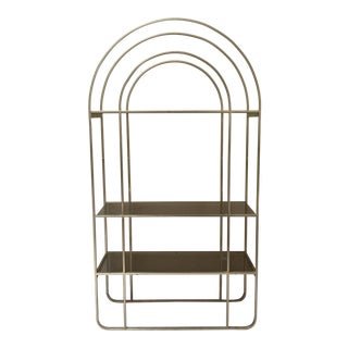 Mid-Century Art Deco Etagere Shelf Unit