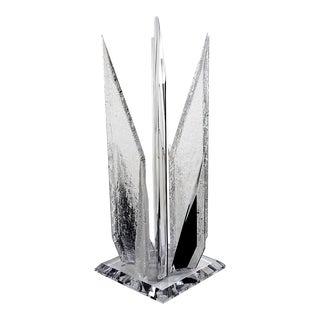 Brutalist Style Acrylic Sculpture