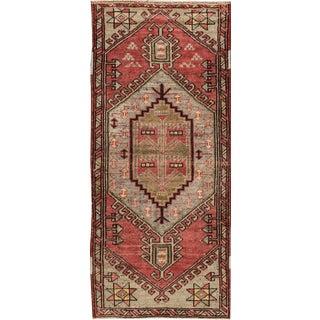 "Apadana - Vintage Turkish Anatolian Rug, 2' x 4'6"""