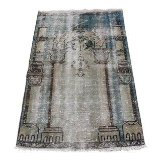 Tribal Anatolian Vintage Rug - 2′5″ × 4′3″