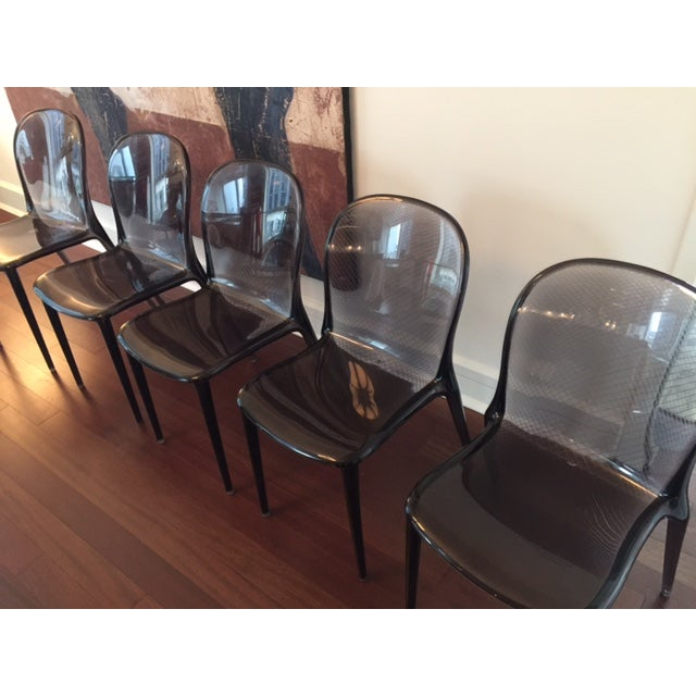Grey Kartell Thalya Dining Chairs - Set of 5 - Image 7 of 8