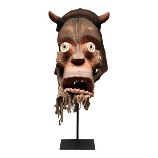 Vintage African Negere Mask