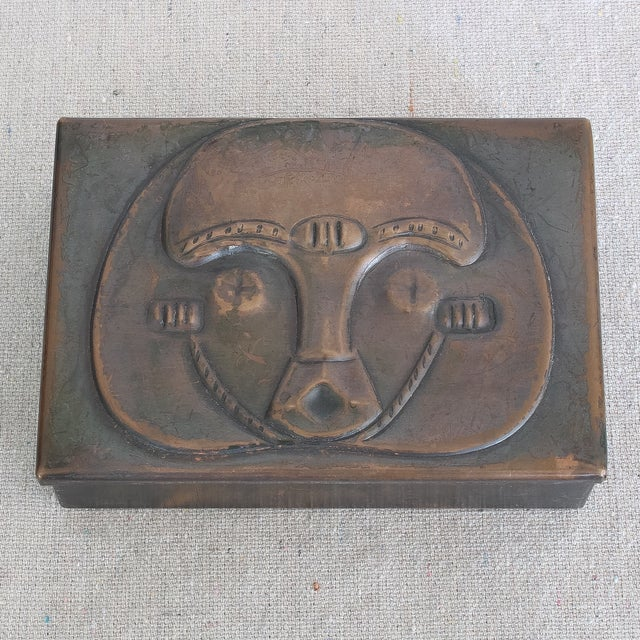 Art Deco African Box & Tray - Image 3 of 8