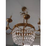 Image of Visual Comfort Brass Chandelier