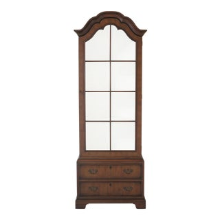 Kittinger 1 Door Model T618 Mahogany Bookcase Display Cabinet