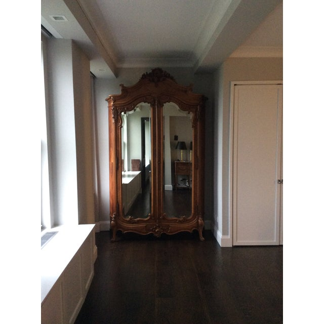 Antique French Louis XV Armoire - Image 7 of 7