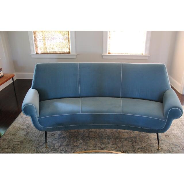 Curved Sofa by Gigi Radice for Minotti - Image 3 of 3