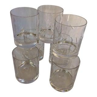 Vintage Baccarat Crystal Whiskey Tumblers - Set of 7