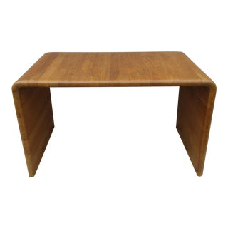 A. Mikael Laursen Danish Modern Waterfall Coffee Table