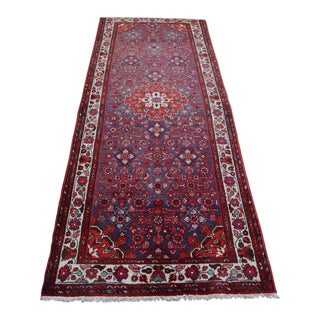 "Antique Persian Runner Rug - 3'8"" x 9'7"""